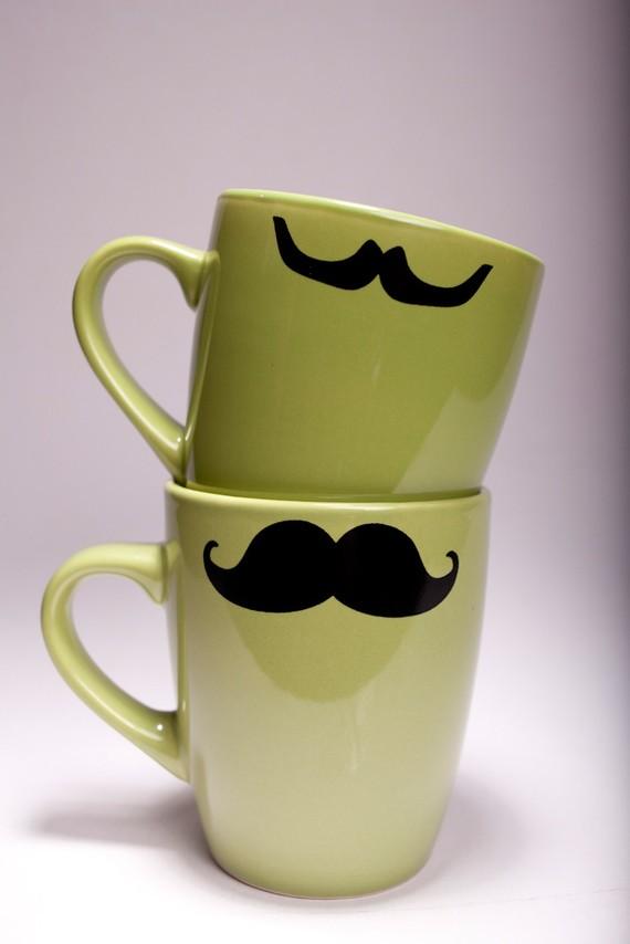 MMMMMmustasche Mugs