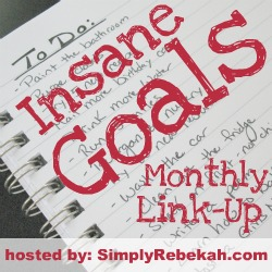 My Insane Goals!