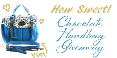 Chocolate Handbags Satchel Giveaway