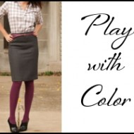 Frugal Fashion: Hosiery is HOT!  Revamp Your Wardrobe