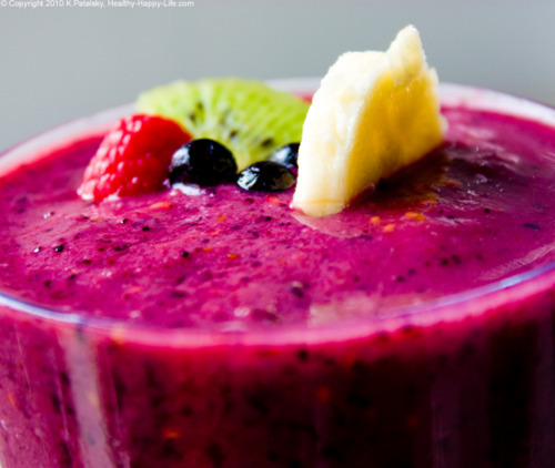 the smoothies recipe for healthy foods