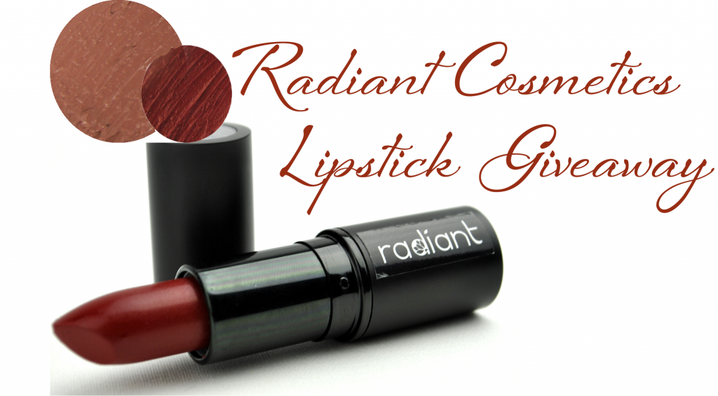 Radiant Cosmetics Giveaway