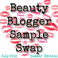 Beauty Blogger Sample Swap- Fall Edition