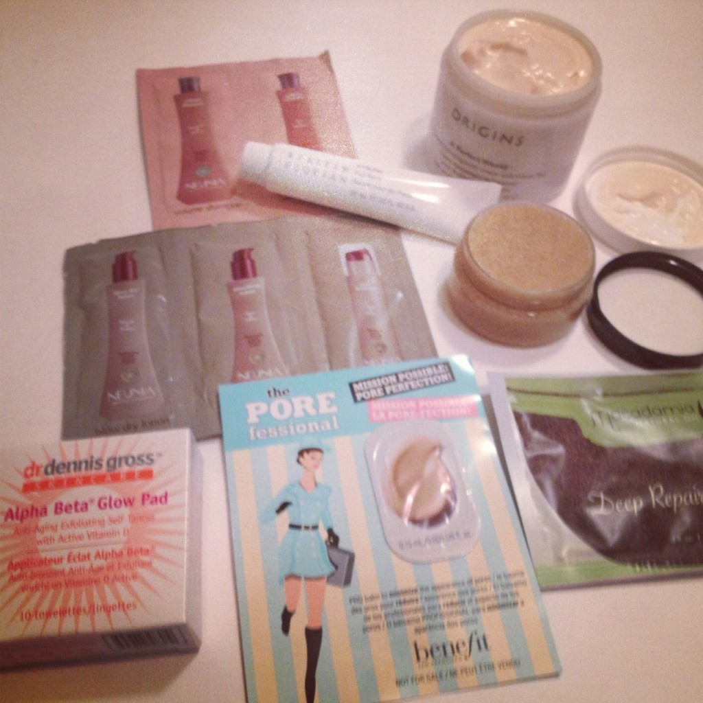 Sample Swaps for Bloggers Beauty Edition