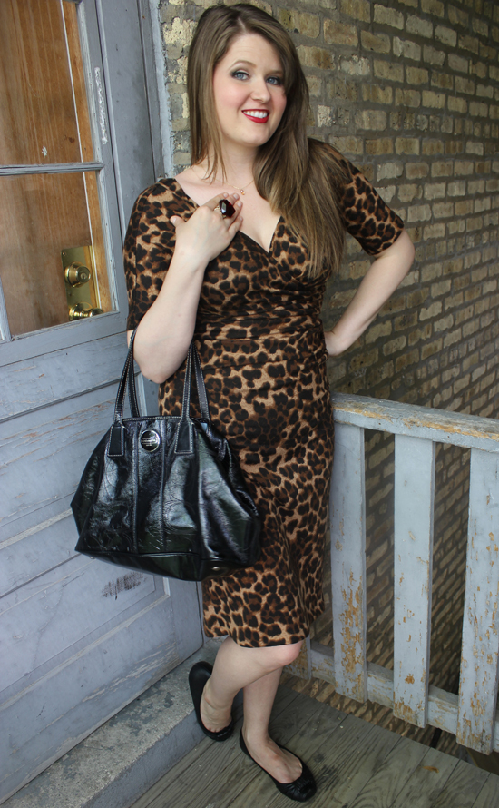 Stop Staring Leopard Dress