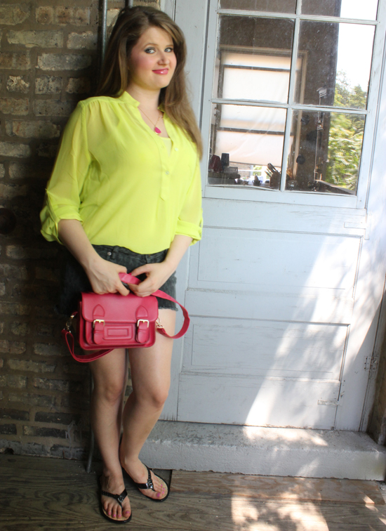 Neon Look For Summer
