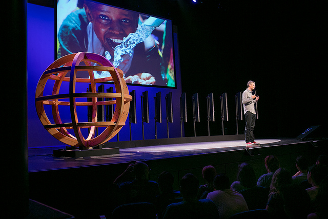 Scott Harrison, Founder of charity:water speaking at WDS 2012