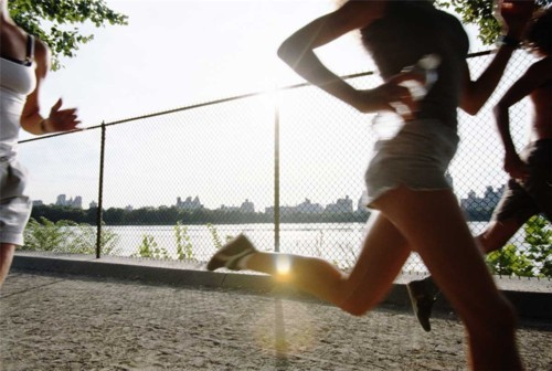 running for couch potatoes
