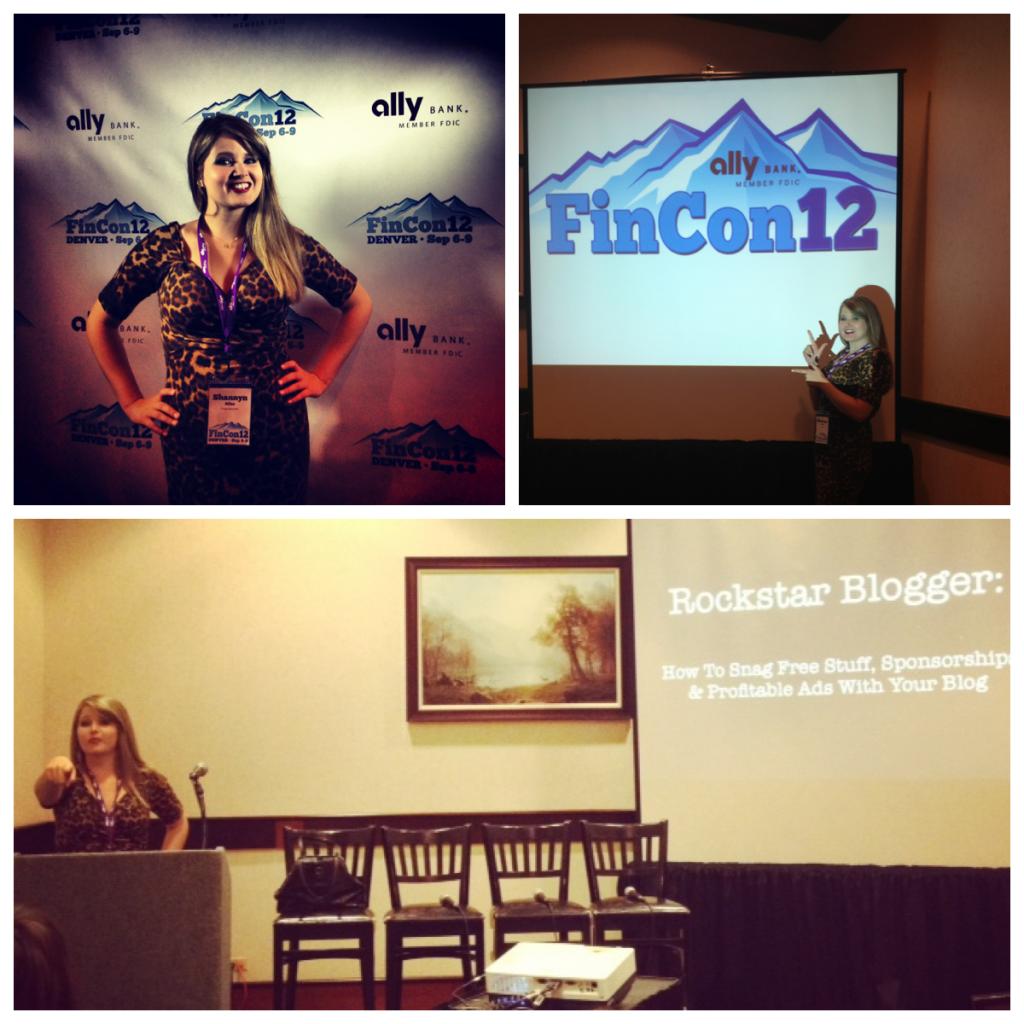 Presenting at FINCON12