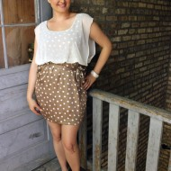 Frugal Fashion:  Summer Polka Dots & Celebrity Shoes