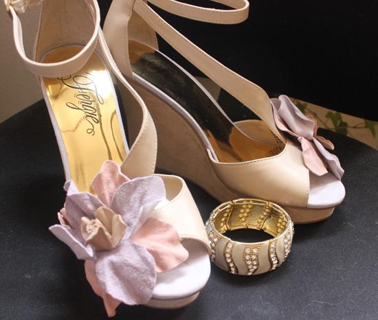 questhaven bracelet, fergie shoes