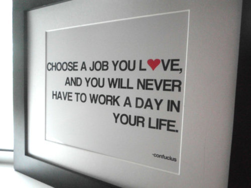 Finding a job you love