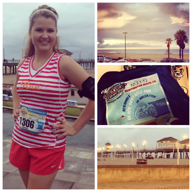 Beach Derby 10k Race Huntington Beach 2012
