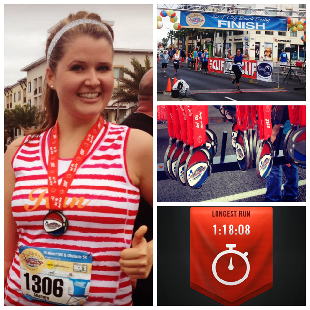 Beach Derby 10k - My first 10k medal!