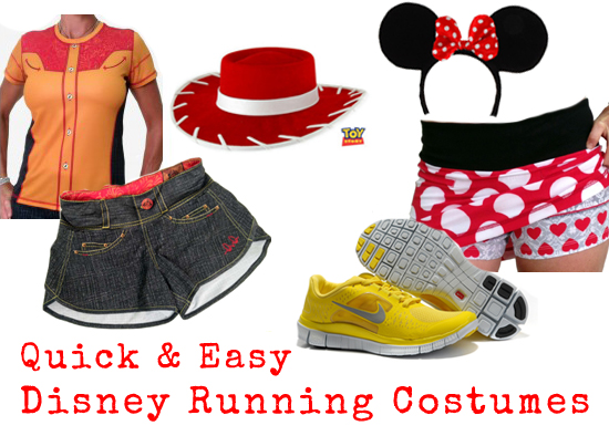 Easy Disney Running Costumes