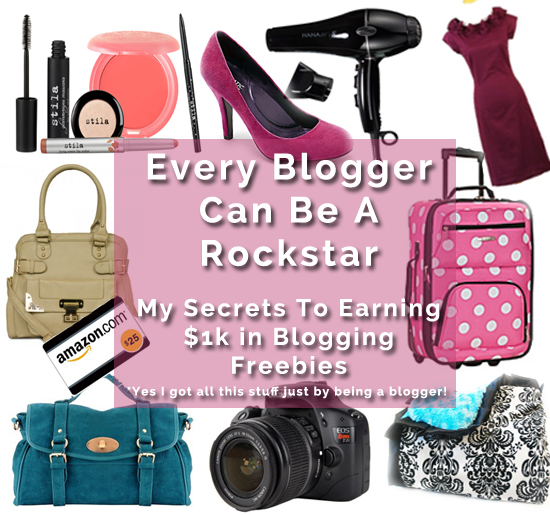 How To Get Free Stuff As A Blogger