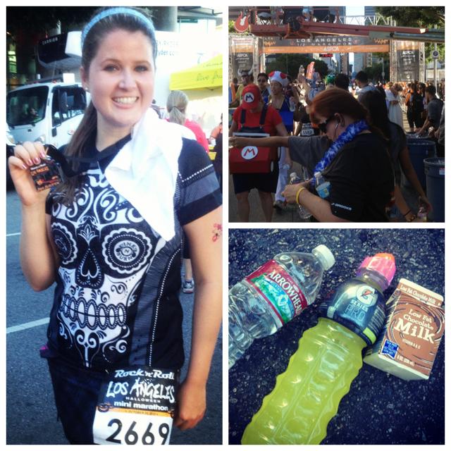 I ran the Rock N Roll Los Angeles Mini Marathon!