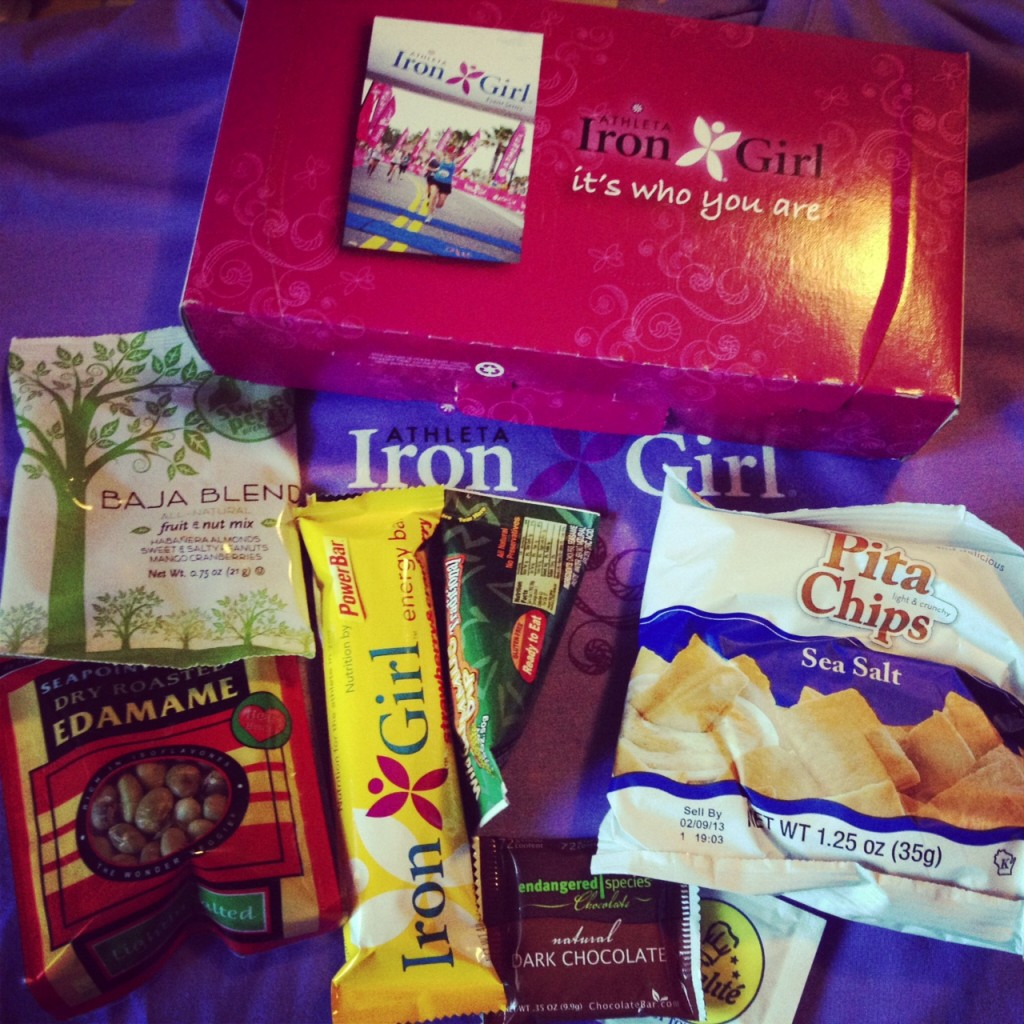 Iron Girl Snack Box