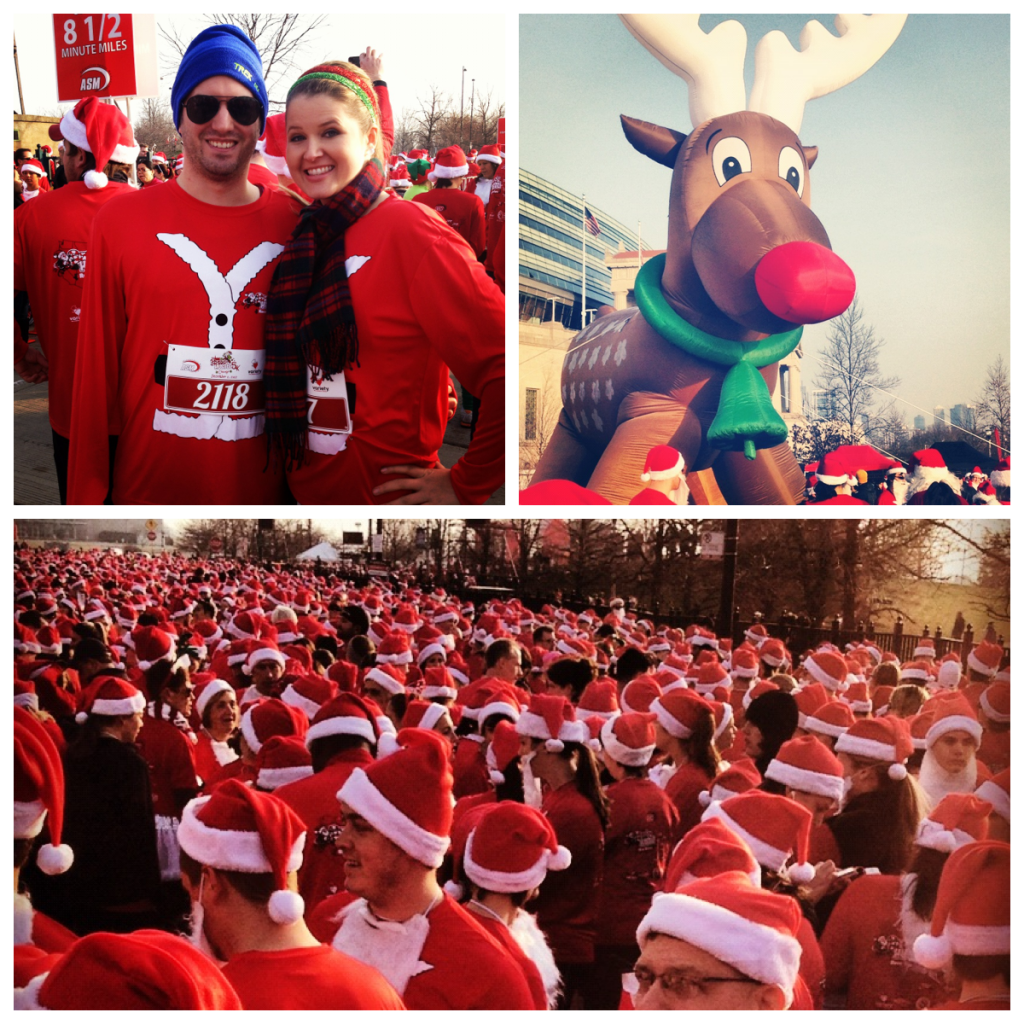 Santa Hustle 5k Chicago 2012