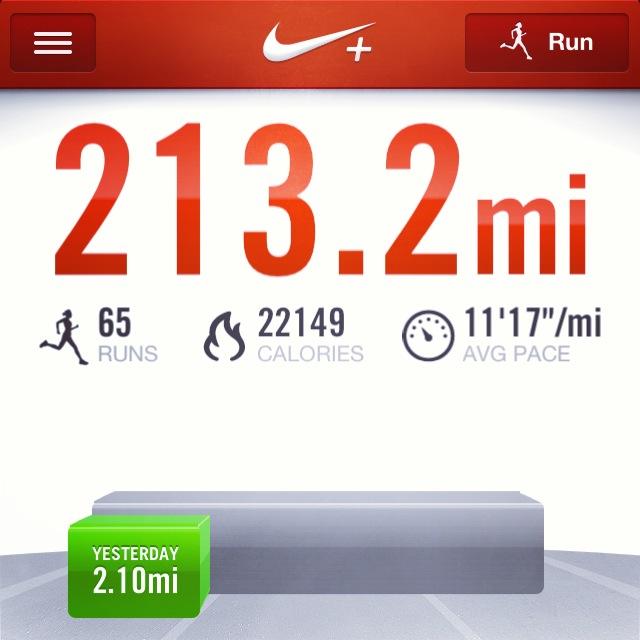 first half marathon training