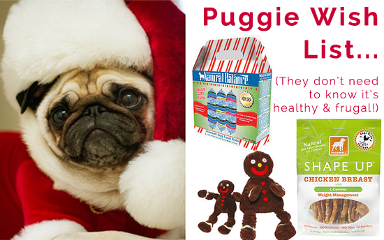 pug christmas wish list