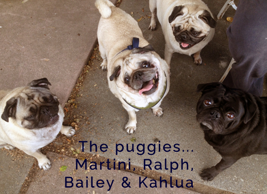 the puggies