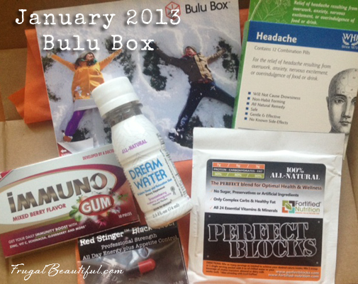 Bulu Box January 2013