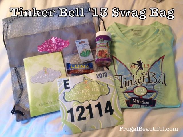 Tinker Bell Half Marathon 2013 Swag Bag