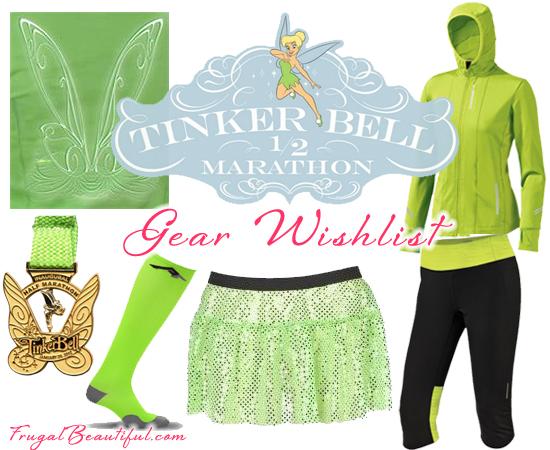 Tinker Bell Half Marathon Costume
