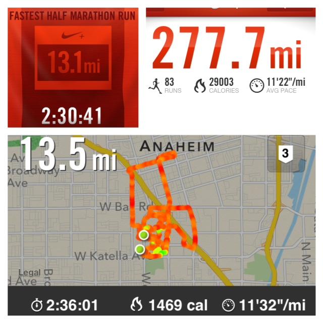 Tinker Bell Half Marathon Mileage Update