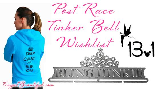 runDisney gear tinker bell half marathon