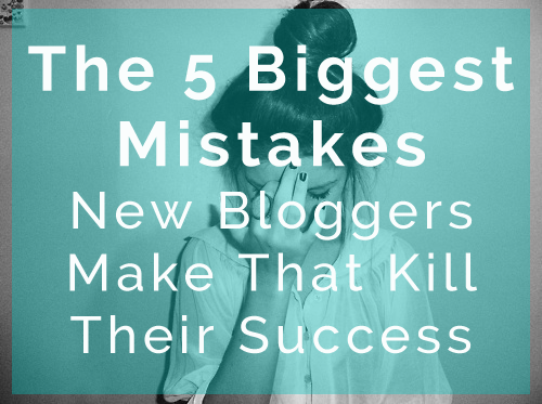 Biggest Mistake New Bloggers Make