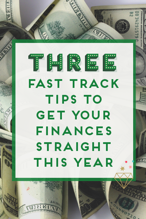 Need help getting your finances straight this year? Here are 3 tips to help you!