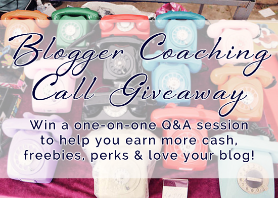 Blogger Coaching Giveaway