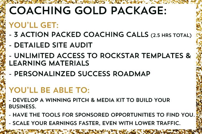 COACHING GOLD PACKAGE