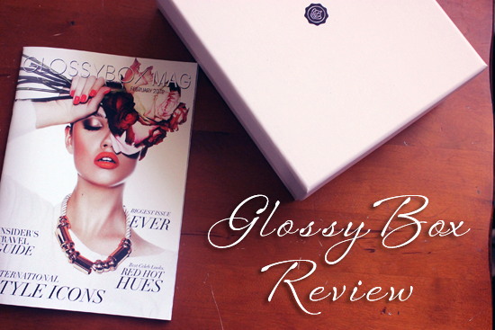 glossybox review blog