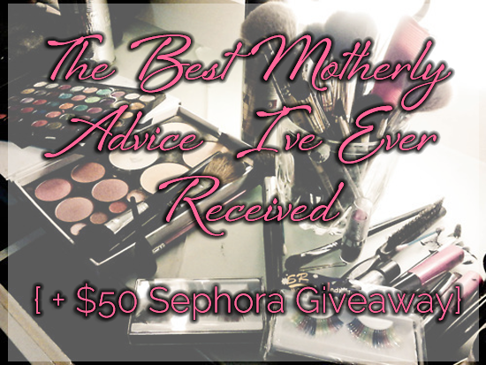 In honor of Mother's Day, enter to win a $50 Sephora Gift Card at FrugalBeautiful.com!
