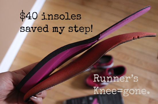 Insoles for running shoes saved my stride