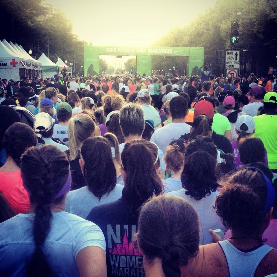 Nike Women's Half Marathon 2013 DC