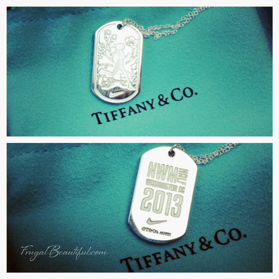 Nike Women's Half Marathon D.C. Tiffany Necklace 2013