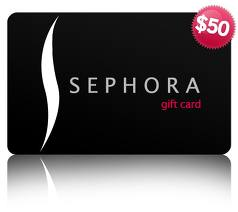 Sephora Gift Card Giveaway at Frugalbeautiful.com