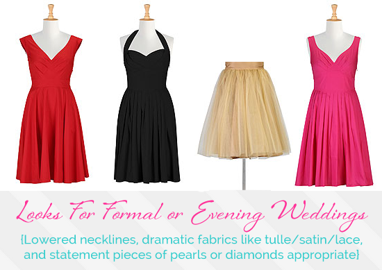 What Should You Wear To A Wedding Formal Or Evening