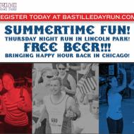 Chicago Runners:  Bastille Day 5k/8k Giveaway