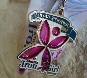 Iron Girl 2013 Medal