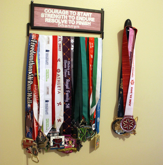 Gone For A Run Medal Displays