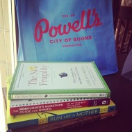 Hello From The Bookshop!  Personal Musings From Portland on Running, Weddings & Plans