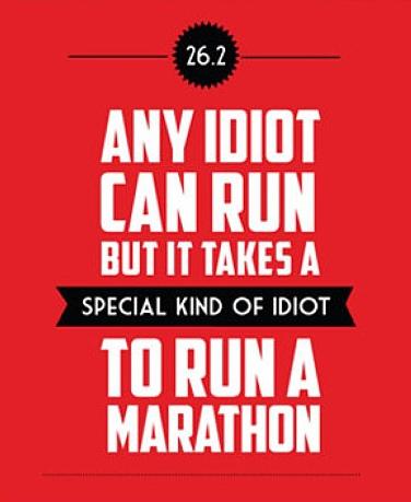 special idiots run a marathon