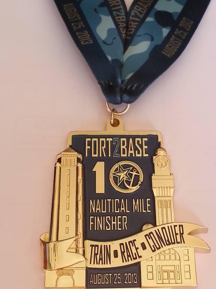 Fort2Base Medal