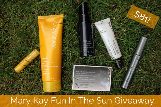 Mary Kay Fun In The Sun Giveaway- August thru September 10th
