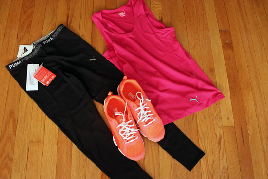 Puma workout gear review